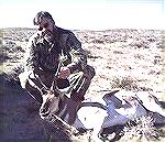 Mike Clerc took this antelope with one shot at 100 yards using T/C Contender chambered in .309 JDJ on opening day of the 2000 Wyoming Antelope Hunt.