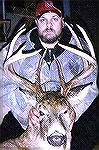 Eric Dendinger and his 2001 trophy buck.Ohio Turnpike BuckEric Dendinger