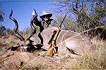My first kudu taken on the first day of the safari.Kudu #1Michael Clerc