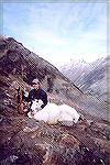 Phil Miner and his 1st goat from BC
