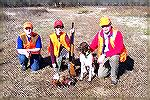 My Son and I took a friend out for his first hunt.  He did very well, as did our Shorthair, Cody.