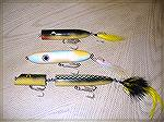 Top water baits made for me by saltydog!